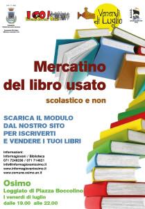 mercatino libro usato luglio2015