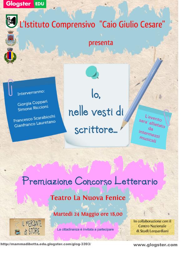 manifesto concorso letterario 15.16