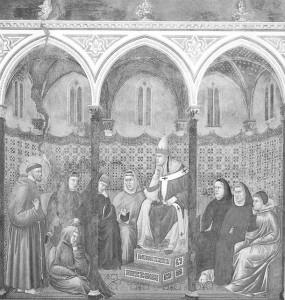 017 La predica dinanzi a Onorio III MOSCA