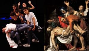 deposizione di Cristo a confronto