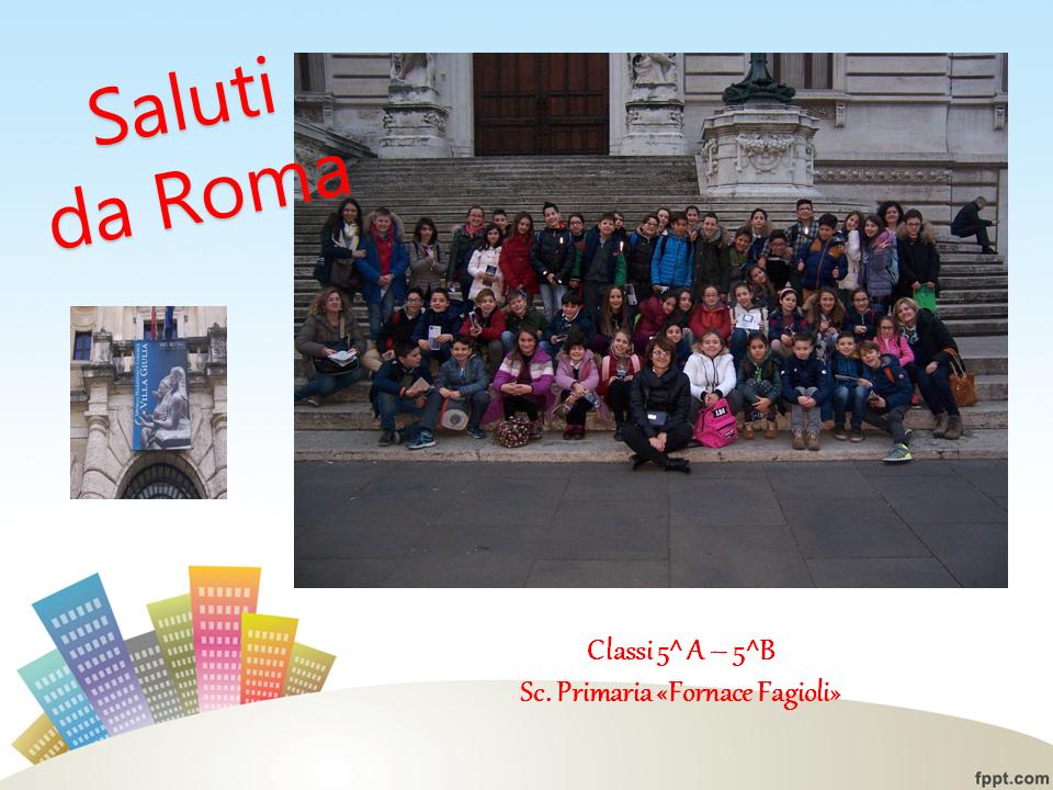gita Roma primaria FF 16.17
