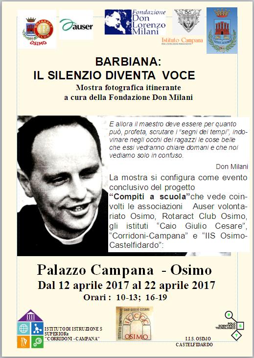 locandina mostra don Milani 16.17