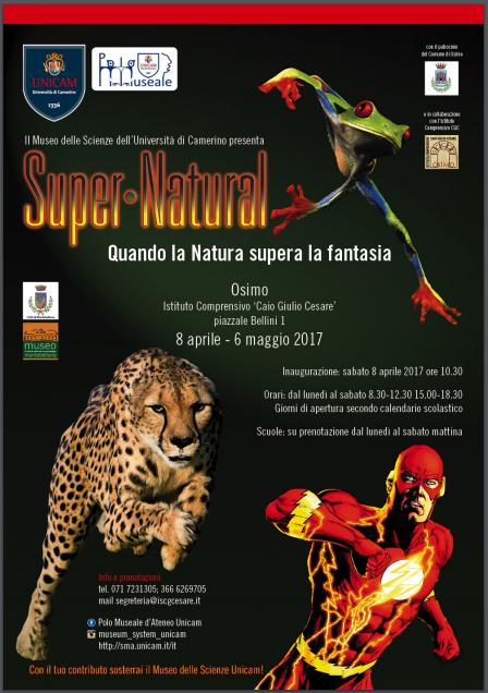manifesto mostra SuperNatural 2017