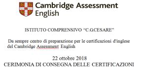 certificazioni 17.18