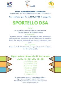 sportello DSA 19.20